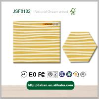 Wholesale Food Grade high quality faced MDF, high gloss 3d wall panel made by foshan daban tomber from china suppliers