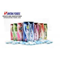 Wholesale Tin Package Xylitol Press Mint Fruit Chews Candy 35g For Chain Stores from china suppliers