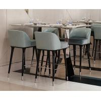 Buy cheap Hotel Restaurant Mid Century Modern Upholstered Counter-Height Bar Stool from wholesalers