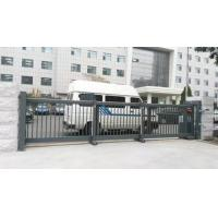 Wholesale Trackless Motorised Steel Iron Telescopic Sliding Gate For Stadium With Powder Coating Protection from china suppliers