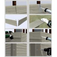 Wholesale Decorative Fiber Cement Siding That Looks Like Wood , Exterior Cement Board Siding from china suppliers
