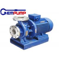 Wholesale ISW Horizontal  Hot Water Booster Pump / Pipe Centrifugal Pump from china suppliers