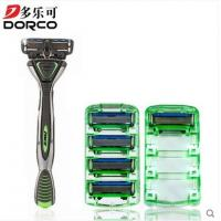 Wholesale 6 Blades Dorco razor for shaving , Pace 6 blue lubricating strip Razor Cartridges from china suppliers