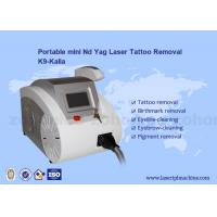 Wholesale Q-switched ND Yag Laser Tattoo Removal Machine Portable For Skin Pigment from china suppliers