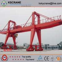 Buy cheap A-type 5-50t/10t Double Beam Hook Gantry Crane, Portal Crane Features from wholesalers