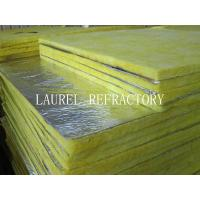 Quality Glass Wool Blanket Refractory Insulation Materials / Fiberglass Wool Roll Thermal Roof Building Materials for sale