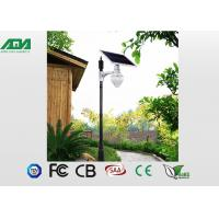 Wholesale 6W outdoor solar garden lights , solar led parking lot lights DC12V from china suppliers