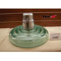 Wholesale High Voltage Glass Insulators , Cap And Pin Power Line Glass Insulators U300BP from china suppliers