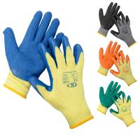 Wholesale work safety latex cotton gloves glove industrial working hand protection from china suppliers