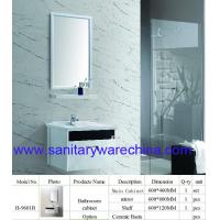 Wholesale Modern Alunimun bathroom cabinet / aluminum alloy bathroom cabinet/Mirror Cabinet/ H-9601B from china suppliers
