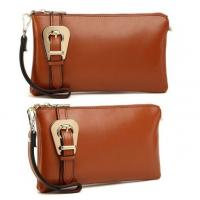 Wholesale designer leather 3-set buckle clutch bags for ladies mix styles order from china suppliers