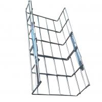 Wholesale Indoor or outdoor heavy duty straight wire mesh cable tray systems,200*100mm from china suppliers