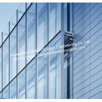 Wholesale Double Layer Insulation Glass Curtain Wall Stick Built System Transparant from china suppliers