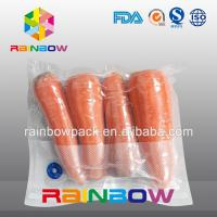 Wholesale Clear Nylon Food Vacuum Seal Bags For Fresh Food Packaging With Texture from china suppliers
