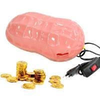 Wholesale Creative life peanut shape table lamp + piggy bank from china suppliers