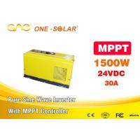 Wholesale Single Output Mppt Solar Inverter 1500 Watt Pure Sine Wave Inverter For Home Use from china suppliers