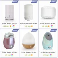 Wholesale Led Light Color Change 2-in-1 Ultrasonic Aroma Diffuser and Humidifier With Adapter from china suppliers