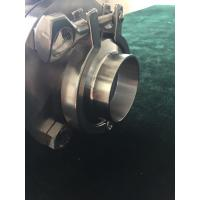 Quality Full Sanitary Steel IP68 Electromagnetic Flow Meter Clamp Type for sale