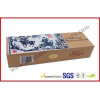 Wholesale Blue and White Craft Paper Printing Cigarette Packaging Boxes Homemade High End from china suppliers