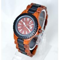 Wholesale Quartz Women / Men Wooden Watches for promotion gift , CE / ROHS approved from china suppliers