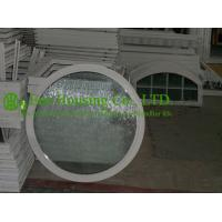 Wholesale White Color Aluminum Round Fixed Windows For ResidentialHome,10.38mm laminated glass from china suppliers