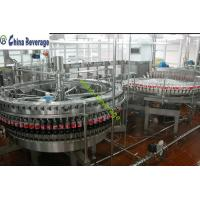 Quality Carbonated Drinks 3-In-1 Beverage Filling Machine DXGF40-40-10 Isobaric Filling for sale