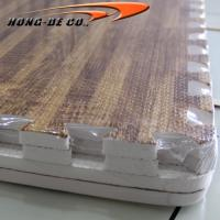 Wholesale D.Oak Soft Wood Floor Tiles - EVA foam softer , safety passing EN71,REACH, Formamide from china suppliers