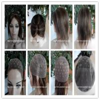 Wholesale Human hair full lace wig  10-26L 4#/27#color Straight indian remy hair,120%-180% density from china suppliers