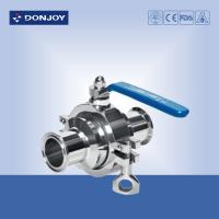 Wholesale SS316L, DN40 Clamped non-retention valve, PTFE Full port valve from china suppliers