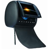 Buy cheap custom car headrest dvd player with sd, usb, aux, game function from wholesalers
