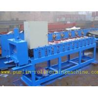 Wholesale Roof Ceiling Roll Forming Machine , Omega Channel Roll Forming Machine For Furring Channel from china suppliers