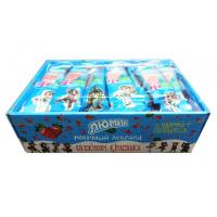 Wholesale Cow shape stawberry and milk flavor lollipop with Fluorescent sticks from china suppliers
