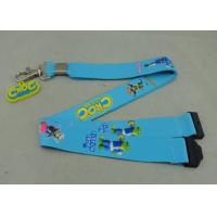 China Sublimation Promotional Lanyards Customizable Badge Holders Lanyards on sale