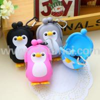 Wholesale New Arrive 3D Penguin Silicone Coin Bag /Silicon Coin Purse for Christmas Promotions from china suppliers