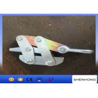 China Self V Type Gripping Clamps Wire Rope Grips For Anti-Twist Steel Rope on sale