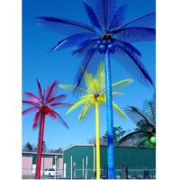 Wholesale 2016 Promotion China made Led artificial coconut tree, outdoor led palm tree light for dec from china suppliers