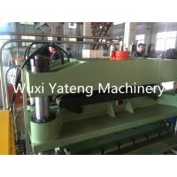 Wholesale Cr12Mov Cutter Material Metal Forming Machinery , Color Steel Sheet Floor Tile Making Machine from china suppliers