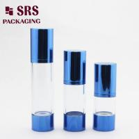 Wholesale personal care plastic lucury airless lotion cosmetic vacuum bottle from china suppliers