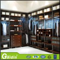 Wholesale hottest luxury aluminum profile bedroom furniture cloth modular wardrobe from china suppliers