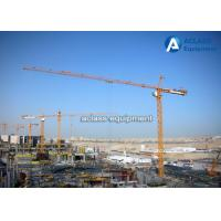 Wholesale Building 4 Tons Topkit Hammerhead Tower Crane With Cat Head Climbing System from china suppliers