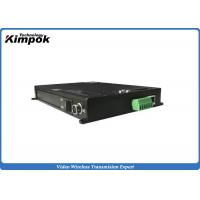 Wholesale 1080P RJ45 Ethernet Wireless Network Video Transmitter 4MHz / 8MHz adjustable Bandwidth from china suppliers