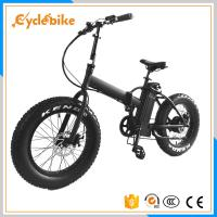 Wholesale 500w Folding Electric Fat Bike 20x4.0 With Comfort Saddle Ce Approved from china suppliers