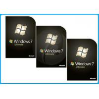 Wholesale 32 Bit 64 Bit microsoft windows 7 ultimate full version Retail box DVD BRAND softwares from china suppliers