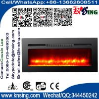 """Quality 40""""50""""60""""Insert electric fireplace heater log LED flame effect IF-1340A wall mounted built-in flat front electric stove for sale"""