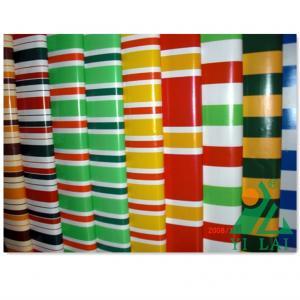 China strip and plain pvc laminated tarpaulin on sale