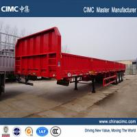 Wholesale 3 axles flatbed Cargo & container semitrailer from china suppliers