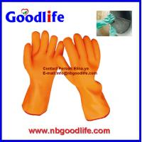 Wholesale sandy long pvc gloves with long sleeve from china suppliers