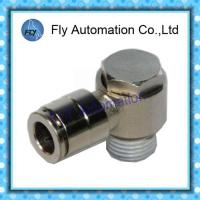 Wholesale Pneumatic Tube Fittings straight through the whole copper nickel quick couplings PG series from china suppliers