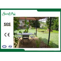Buy cheap PE / PP Yarn Landscape Artificial Grass Four Color For Garden Landscaping from wholesalers