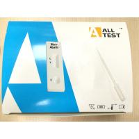 Wholesale AllTest Micro - Albumin Qualitative Rapid Test Kits Rapid Test Cassette (Urine) OMAL -102 from china suppliers